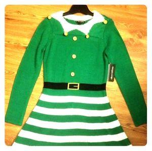 Christmas Dress Sz M by Allison Brittney